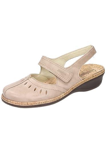 Comfortabel Damen-Slipper Beige 942025-8, Grösse 42