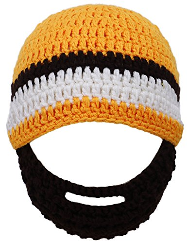 Simplicity Toddlers Beanie Knitted Mustache