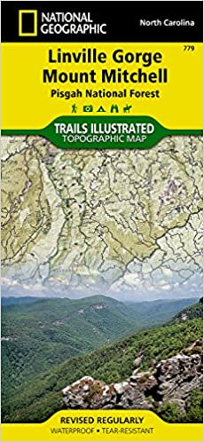 Linville gorge mount mitchell pisgah national forest national linville gorge mount mitchell pisgah national forest national geographic trails illustrated map 2006th edition gumiabroncs Gallery
