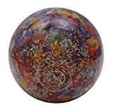 Harmonize Multistone Orgone Sphere Ball Balancing Reiki Healing Stone Table Decor Gift
