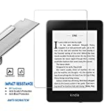 PULEN Screen Protector for All-New Kindle Paperwhite 2018 10th Generation,HD Clear Anti-Fingerprints 9H Tempered Glass Film for Kindle Paperwhite 2018 10th Generation (6 inch)