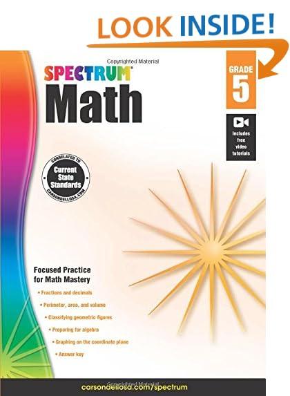 Math 5th Grade: Amazon.com