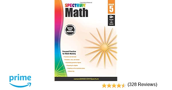 Spectrum Math Workbook, Grade 5: Spectrum: 9781483808734: Amazon ...