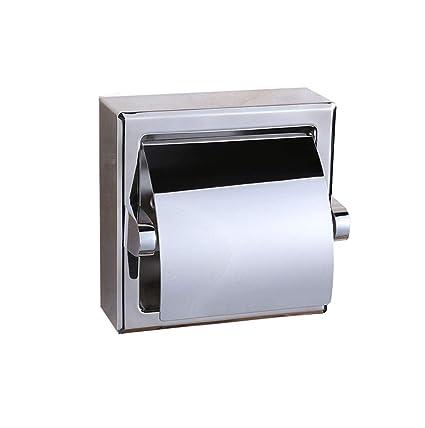 Porta Carta Igienica A Scomparsa.Wyjw In Acciaio Inox Da Incasso Porta Carta Igienica A