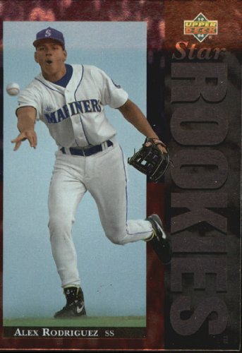 1994 Upper Deck Baseball Rookie Card #24 Alex Rodriguez Near Mint/Mint -