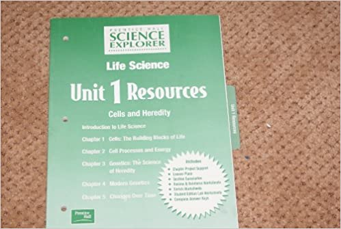 Prentice Hall Science Explorer Life Science Unit 1 Resources