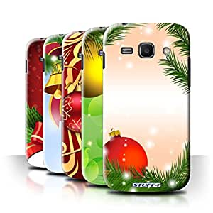 STUFF4 Phone Case / Cover for Samsung Galaxy Ace 3/S7270 / Pack 9pcs / Christmas Decorations Collection