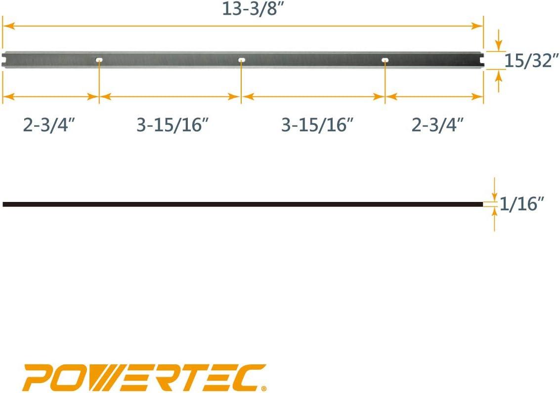 R4331 Planer 13-inch Planer Blades Knives AC20502 for Rigid R4330 Set of 3