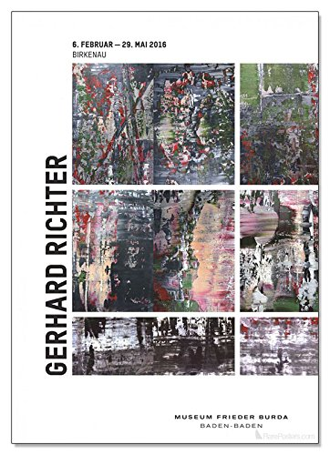 Munich-Poster Gerhard Richter-City Pictures
