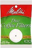 Melitta Coffee Filters for Percolators, White, 100 Count