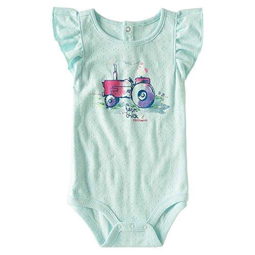 Carhartt Baby Girls' Short Sleeve Bodyshirt,