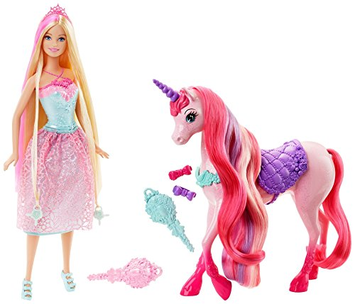 Barbie Princess and Unicorn Doll