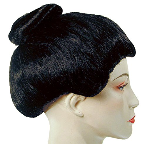 Lacey Wigs Geisha Deluxe Black -