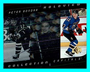 1996-97 SP Holoview Collection #HC14 Peter Bondra WASHINGTON CAPITALS