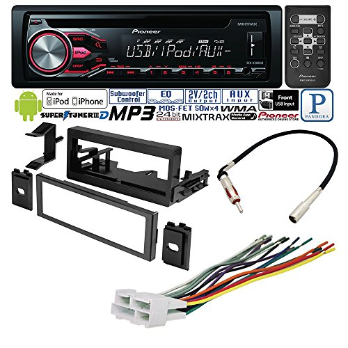 CADILLAC CHEVROLET GMC 1995- 2002 CAR STEREO RADIO DASH INSTALLATION MOUNTING KIT W/ WIRING HARNESS RADIO ANTENNA ADAPTER (Cd Player For 2000 Suburban compare prices)