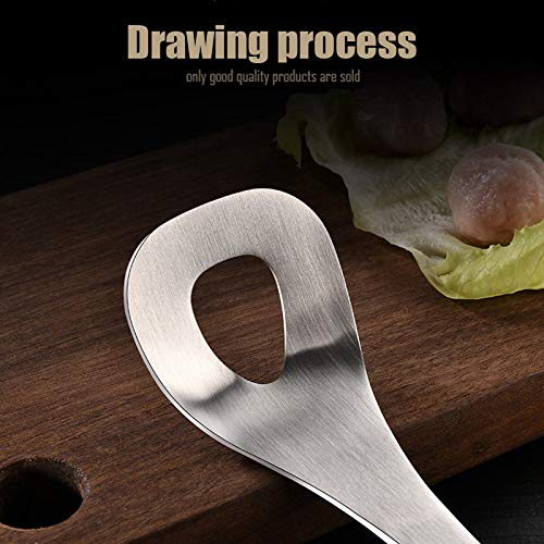 Alaojie None-Stick Meat Ballers Stainless Steel Meatball Maker with Wooden Handle Portable Kitchen Tool