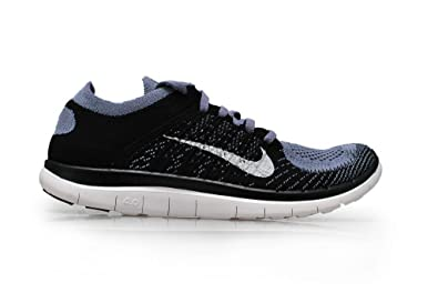 huge selection of 7ab4e 702c9 Image Unavailable. Image not available for. Colour  Nike Men s - Free 4.0  Flyknit - Iron Purple White ...