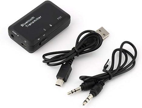 Funnyrunstore Mini TS-BT35F03 Transmisor de Audio inalámbrico Receptor de música para Auriculares Smart TV MP3 Adaptador de dongle Negro: Amazon.es: Electrónica