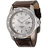 Invicta Men's 0008-IS464 Pro Diver Collection Brown Ostrich Leather Watch