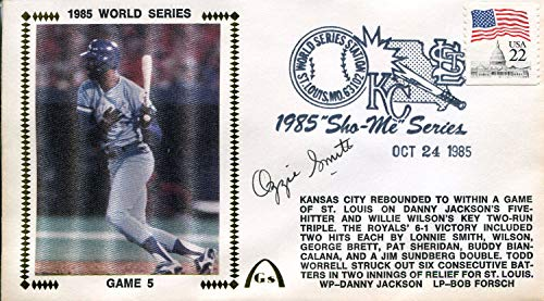 - Ozzie Smith Autographed First Day Cover
