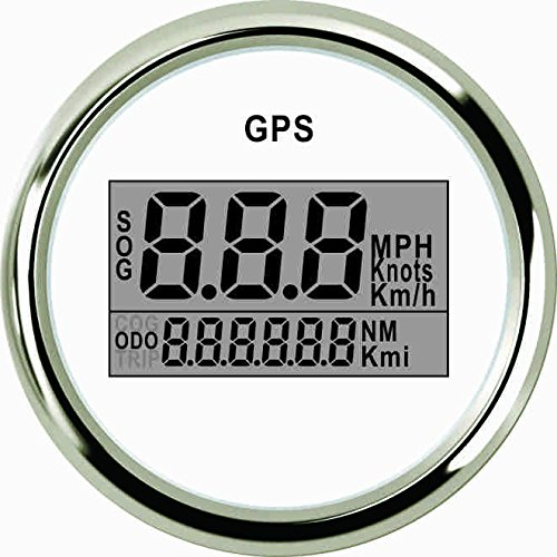 ELING Digital GPS Speedometer Speedo Gauge for Car Motorcycle Truck Yacht Vessel 2'(52mm) 9-32V