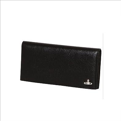 feea9d8b5d2b ヴィヴィアンウエストウッド Vivienne Westwood メンズ 財布 クロコ 長財布 かぶせ (ブラック)