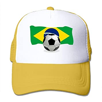 NDJHEH Gorras béisbol Two Tone Trucker Hat - Soccer Ball with ...
