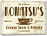 "KOMATSU'S Coffee Shop & Bakery Stretched Canvas Print 24"" x 30"""