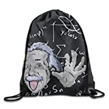 Grimace Mathematician Lightweight Drawstring Bag Sport Backpack