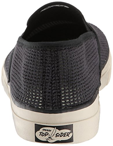 Sperry Cloud S/O Knit Zapatos del barco para hombre Black