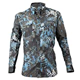 Kryptek Anemos Long Sleeve Camo Hunting & Fishing Shirt (K-Ore Collection)