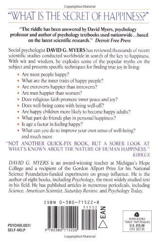 The Pursuit Of Happiness David Myers Pdf