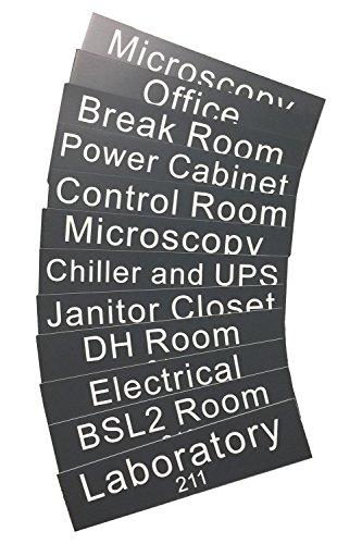 Personalized Name Plate With Wall or Office Desk Holder -- Room labels