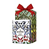 The Yummy Palette Pukka Green Collection Organic Tea Gift Tin Special Travel Edition   5 Assorted Flavors - 20 Organic Enveloped Tea Bags