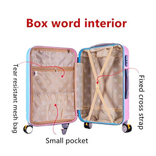 Children's Suitcase, Combination Box, 26 Inches,2 colours by HongHe (Image #5)