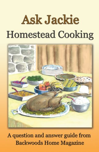 Ask Jackie: Homestead cooking by [Clay-Atkinson, Jackie, Backwoods Home Magazine]