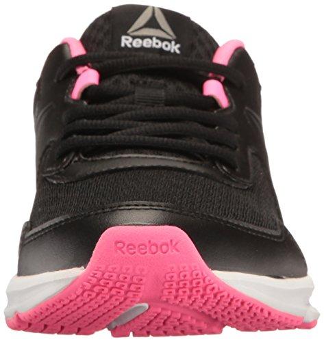 Reebok Heren Express Runner Sneaker Zwart / Gif Roze / Tin / Wit