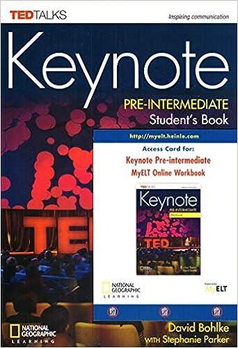 Keynote Pre-Intermediate Student's Book with Audio CDs