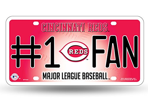 MLB Cincinnati Reds #1 Fan Metal Tag