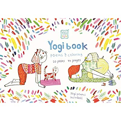 YOGi FUN Kids Yoga Book for Girls and Boys with Original Yoga Rhyming Poems and Coloring Pages: Toys & Games
