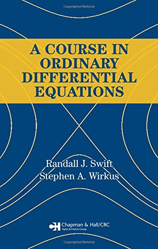 A Course in Ordinary Differential Equations