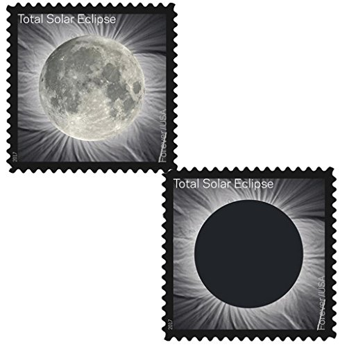 (Total Solar Eclipse of the Sun 10 Sheets of 16 USPS First Class Postage Stamps Wedding Celebration)