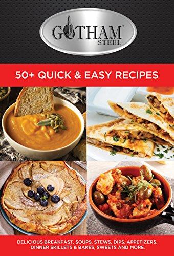 GOTHAM STEEL Cookbook by Daniel Greene, New