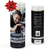 Automotive : The Man Sham Chamois Cloth -Top Men's Gift - Ultimate Towel for Fast Drying of Your Car or Truck - Scratch and Lint Free Shine