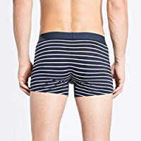 Cueca Levis Masculina Boxer Stripped Pack 2 unid. Azul