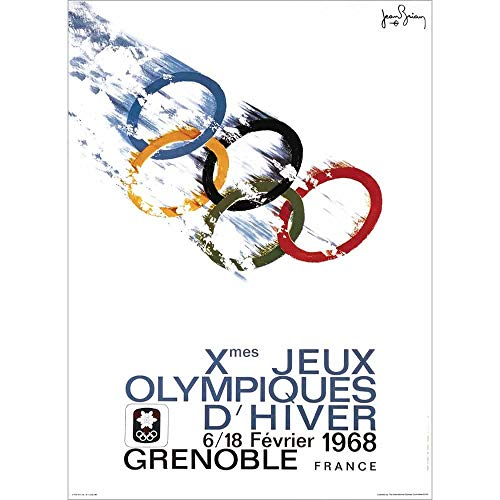 ADVERT 1948 LONDON OLYMPIC GAMES DISCUS THROWER RINGS UK ART POSTER PRINT CC6865
