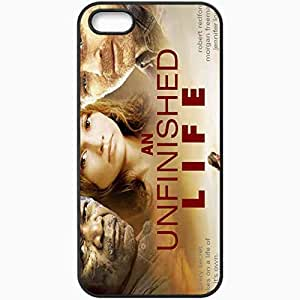 Personalized iPhone 5 5S Cell phone Case/Cover Skin An unfinished life movies Black