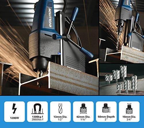 Magnetic Drilling System - Evolution Power Tools  EVOMAG42 1 5/8