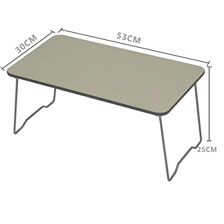 Mesa auxiliar Cama Mesa pequeña Mesa de madera plegable Soporte de ...