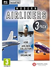 Modern Airliners Collection: Airbus A380 / Boeing 787 Dreamliner Pc Dvd
